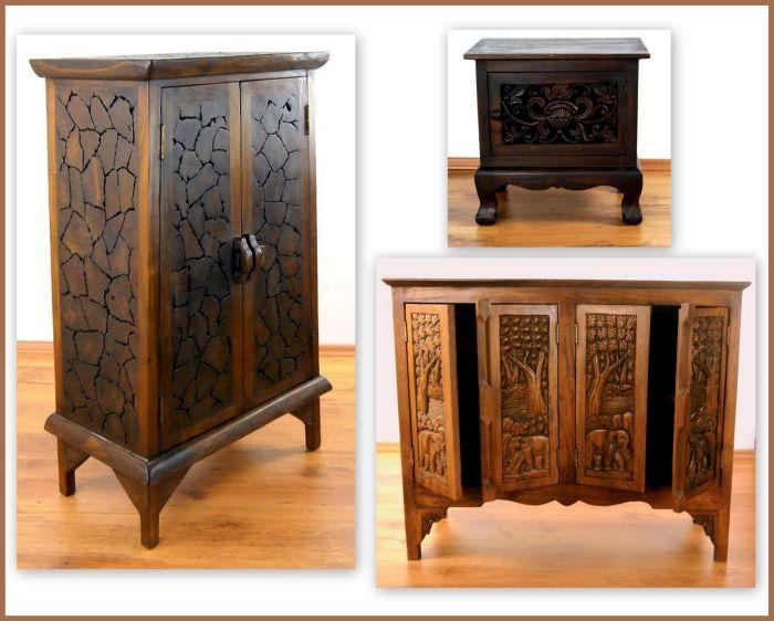 schr nke aus thailand thai ambiente. Black Bedroom Furniture Sets. Home Design Ideas