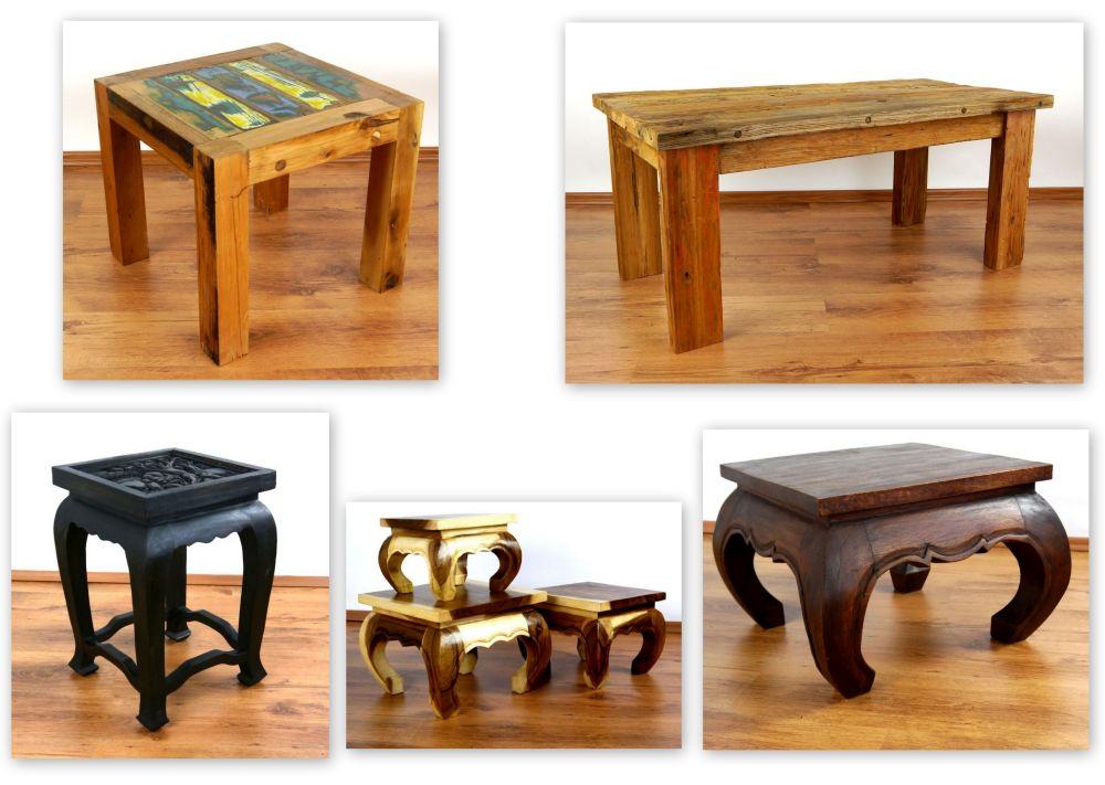 Asiatische Möbel thailändische möbel opiumtische accessoires thaikissen