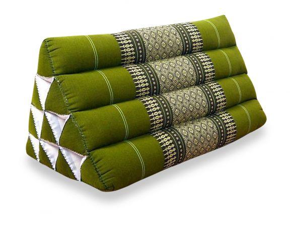 Asiatisches Dreiekskissen ohne Auflage  *grün*