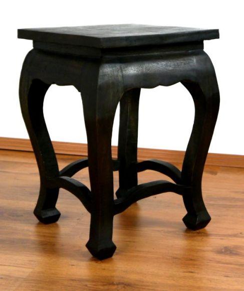 Asiatischer Tisch, extra hoch in *schwarz*