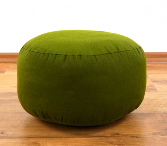 kleines Zafukissen, Meditationskissen  *grün*