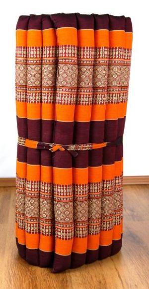 Thaimatte, Liegematte  *orange*  Gr.M