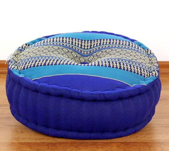Zafukissen, Meditationskissen  *blau*