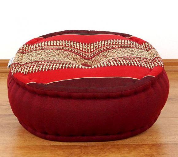 Zafukissen, Meditationskissen  *rubinrot*