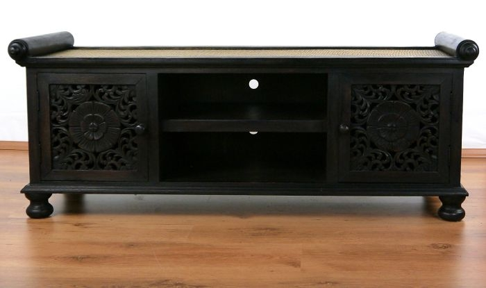asiatisches hifi sideboard thai ambiente. Black Bedroom Furniture Sets. Home Design Ideas