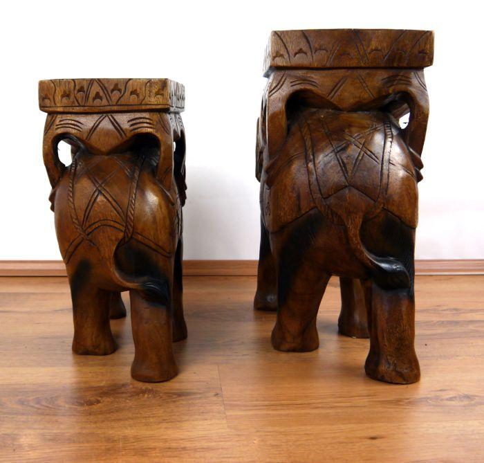gigantischer deko elefant aus holz jetzt online kaufen. Black Bedroom Furniture Sets. Home Design Ideas