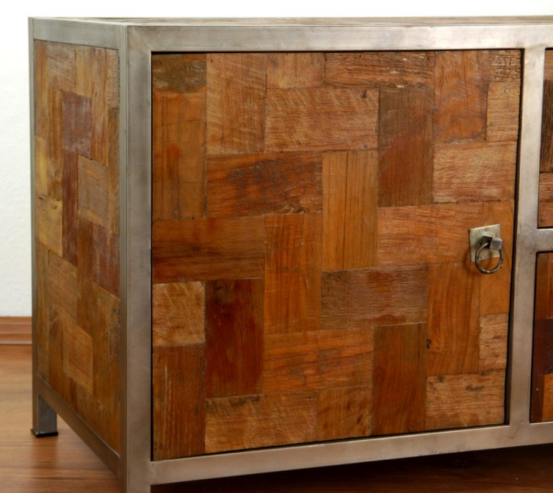 Metall sideboard cool sideboard mangoholz und metall for Buromobel aus metall