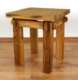 Java, Beistelltisch, Tisch aus recyceltem Teakholz, Nr.43