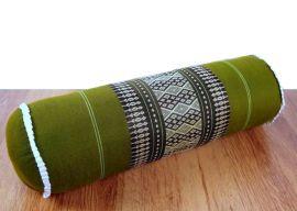 Asiatische Nackenrolle, Nackenkissen  *grün*