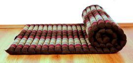 Kapok Rollmatte, Thaimatte  *weinrot*  Gr.M