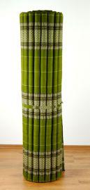 Kapok Rollmatte, Liegematte  *grün*  Gr.XL