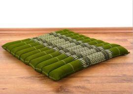 Steppkissen, Stuhlauflage  *grün*  (groß)