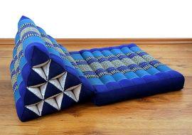 Thaikissen, Dreieckskissen *blau*