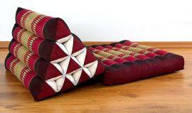 Thaikissen, Dreieckskissen *rubinrot*