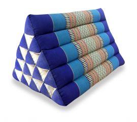 Asiatisches Dreieckskissen ohne Auflage  *blau*  (extrahoch)