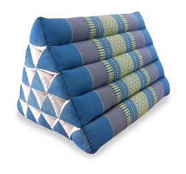 Asiatisches Dreieckskissen ohne Auflage  *hellblau*  (extrahoch)