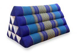 Thaikissen ohne Auflage  *blau*