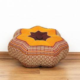 Zafu,  Meditationskissen, kleiner Stern  *orange*