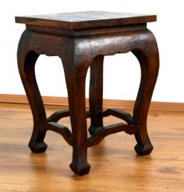 Asiatischer Tisch, extra hoch in *braun*