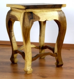 Asiatischer Tisch, extra hoch in *natur*