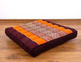 Asiatisches Sitzkissen  *orange*  (klein)