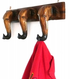 Garderobenhaken mit *3 Elefanten*