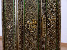Glasmosaik-Schrank mit *Elefanten-Ornamenten*  Nr.31