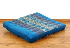 Kapok Bodensitzkissen, Stuhlkissen  *hellblau*  (groß)