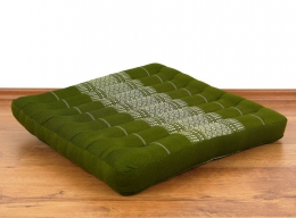 Kapok-Kissen, Meditationskissen  *grün*  (groß)