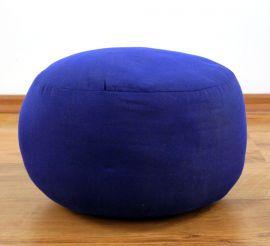 kleines Zafukissen, Meditationskissen  *blau*