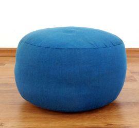 kleines Zafukissen, Meditationskissen  *hellblau*