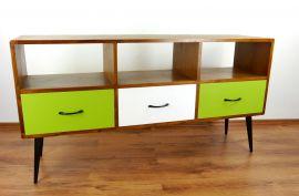Java, Sideboard/TV-Bank aus Teakholz im  *Retro-Design*   Nr.400