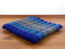Steppkissen, Meditationskissen  *blau*  (klein)