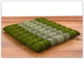 Steppkissen, Stuhlauflage  *grün*  (klein)