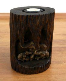 Teelichthalter *Elefantenhöhle*