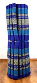 Thai Rollmatte  *blau*  Gr.L