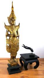 Thailändischer *Tempelwächter*  Wai Gruß