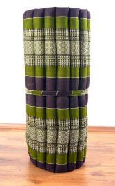Thaimatte, Rollmatte, Liegematte  *braun / grün*  Gr.M
