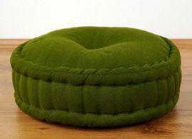 Zafukissen, Meditationskissen  *grün*
